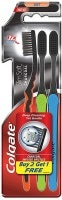 Colgate Slim Soft Charcoal Tooth Brush (Pack of 3)