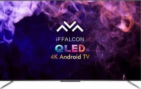 Compare iFFalcon 55 Inch QLED Ultra HD (4K) Smart Android TV (55H71)