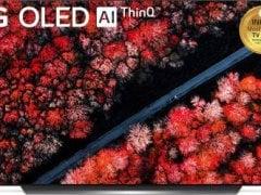 LG 65 Inch OLED Ultra HD (4K) TV (C9 OLED65C9PTA)