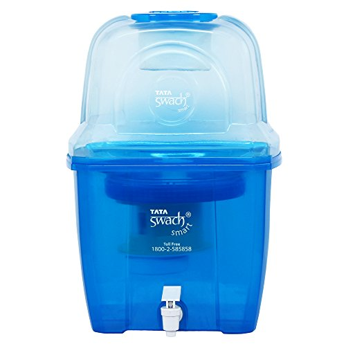 Tata Swach Smart 15L Gravity Based Water Purifier (Blue)