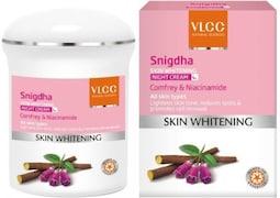 VLCC Snigdha Skin Whitening Night Cream (Pack of 5)
