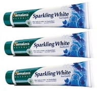 Himalaya Sparkling White Toothpaste (100GM, Pack of 3)