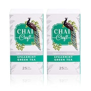 Chai Craft Spearmint Green Tea (413GM, 50 Pieces)