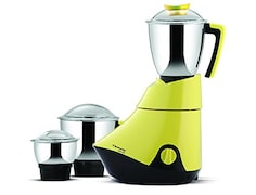 Butterfly Splendid 750W Mixer Grinder (Yellow, 3 Jar)