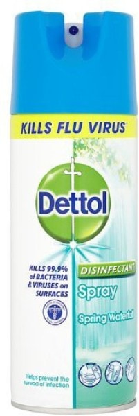 Dettol Spring Waterfall Disinfectant Spray (400ML)