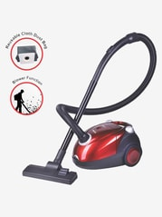 Inalsa Spruce Dry Vacuum Cleaner (Black & Red)