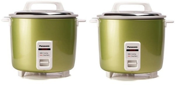 Panasonic SRWA22H 5.4 L Rice Cooker (Apple Green)