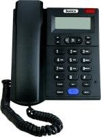 Sonics SS517 Corded Landline Phone (Black)