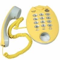 Sonitel ST598 Corded Landline Phone (Yellow)