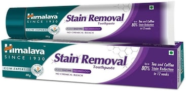 Himalaya Stain Removal Toothpaste (80GM)