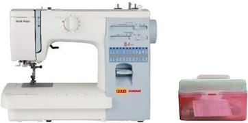 Usha Stitch Magic Electric Sewing Machine (White)