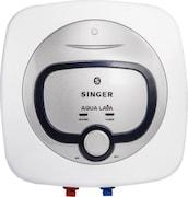 Singer 15L Storage Water Geyser (Aqua Lava, White)