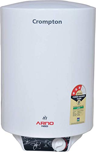 Crompton 25L Storage Water Geysers (Arno Neo 1525, White)