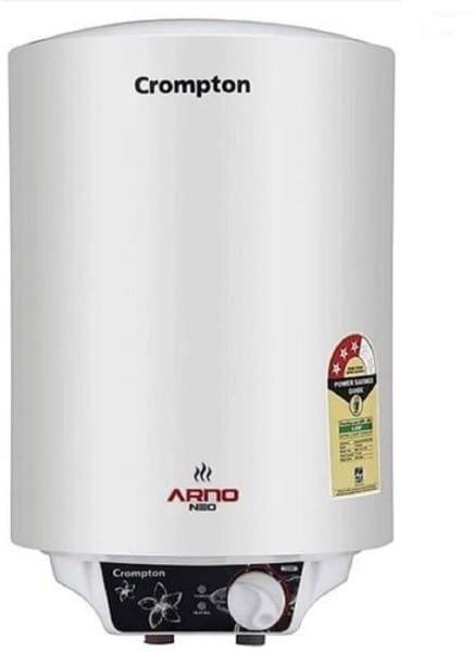 Crompton 25L Storage Water Geysers (Arno Neo, White)