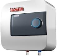 Sameer 10L Storage Water Geyser (I-FLO Glassline, White)