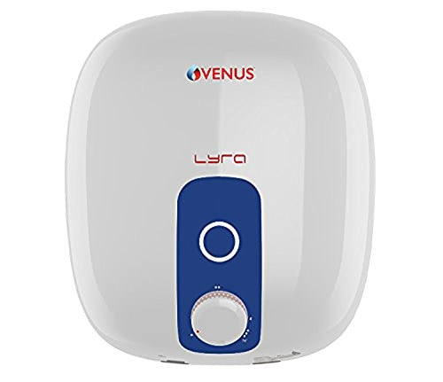 Venus 10L Storage Water Geyser (Lyra, Blue & White)