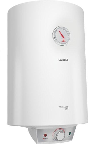 Havells 15L Storage Water Geyser (Monza Ec, White)