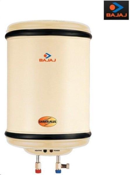 Bajaj 10L Storage Water Geyser (Shakti Plus, Ivory)