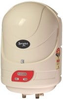 V-Guard 15L Storage Water Geyser (Sprinhot Plus, Ivory)
