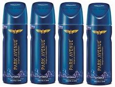 Park Avenue Storm Deodorant Body Spray (520ML, Pack of 4)