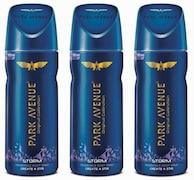 Park Avenue Storm Deodorant Body Spray (390ML, Pack of 3)