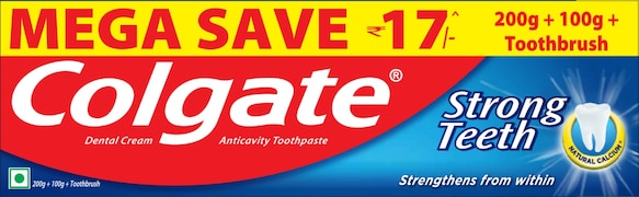 Colgate Strong Teeth Toothpaste (300GM)