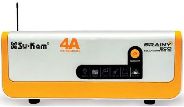 Su Kam Brainy ECO Pure Sine Wave Inverter (Orange & White)