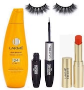 Lakme Sun Expert Fairnes Body Sun screen Lotion SPF 24 (Orange, Pack of 4)