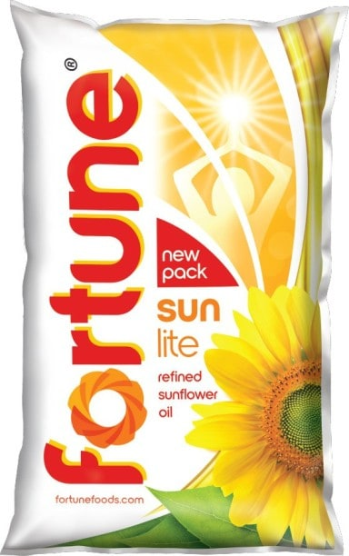 Fortune Sunlite Refined Sunflower Oil (1LTR)