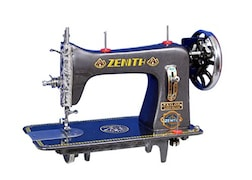 Zenith Super Deluxe Manual Sewing Machine (Grey)