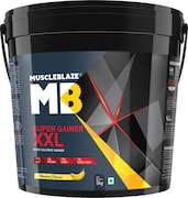 MuscleBlaze Super Gainer XXL (Banana, 5KG)