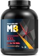 MuscleBlaze Super Gainer XXL (Cookies And Cream, 3KG)