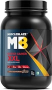 MuscleBlaze Super Gainer XXL (Cookies And Cream, 1KG)