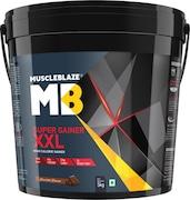 MuscleBlaze Super Gainer XXL (Chocolate, 5KG)