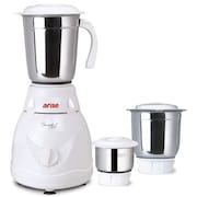 Arise Super Versa 550W Mixer Grinder (White, 3 Jar)