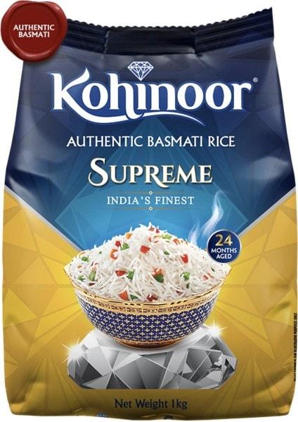 Kohinoor Supreme Basmati Rice (1KG)