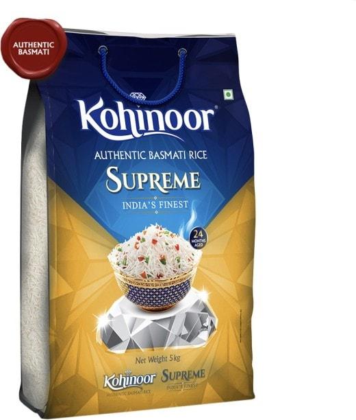 Kohinoor Supreme Basmati Rice (5KG)