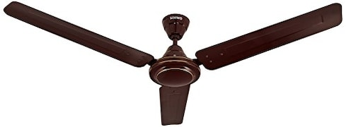 Solimo Swirl Ceiling Fan (Brown)