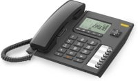 Alcatel T76 Corded Landline Phone (Black)