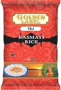Golden Label Taj Basmati Rice (5KG)