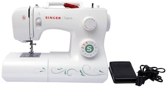 Singer Talent 3321 Electric Sewing Machine (White)