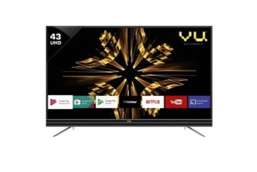 76914981675 Vu 43 Inch LED Ultra HD (4K) TV (43SU128) Online at Lowest Price in India