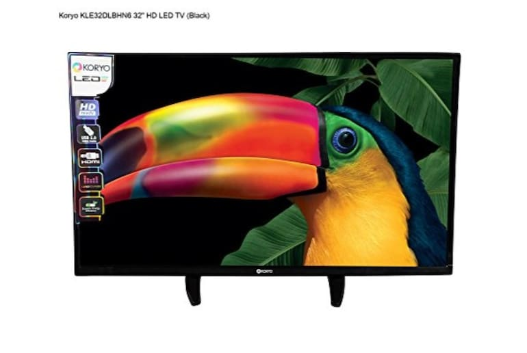 Koryo 32 Inch Led Hd Tv Kle32dlbhn6 Online At Lowest Price In India