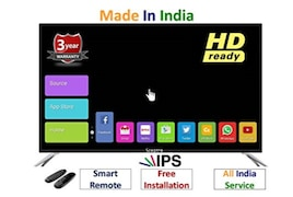 Sceptre 32 Inch LED HD Ready TV (SMTYX32ZDHDIPS)
