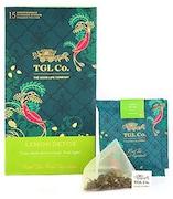 TGL Lemon Detox Green Tea (141GM, 16 Pieces)