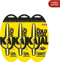 Maybelline The Colossal Kajal (Pack of 3)