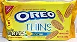 Oreo Thins Creme Sandwich Cookies (Lemon, 287GM)