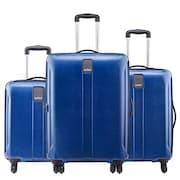 Safari Thorium Stubble Luggage (Blue, Pack of 3)