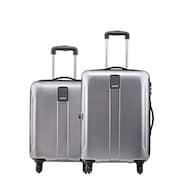 Safari Thorium Stubble Luggage (Silver, Pack of 2)
