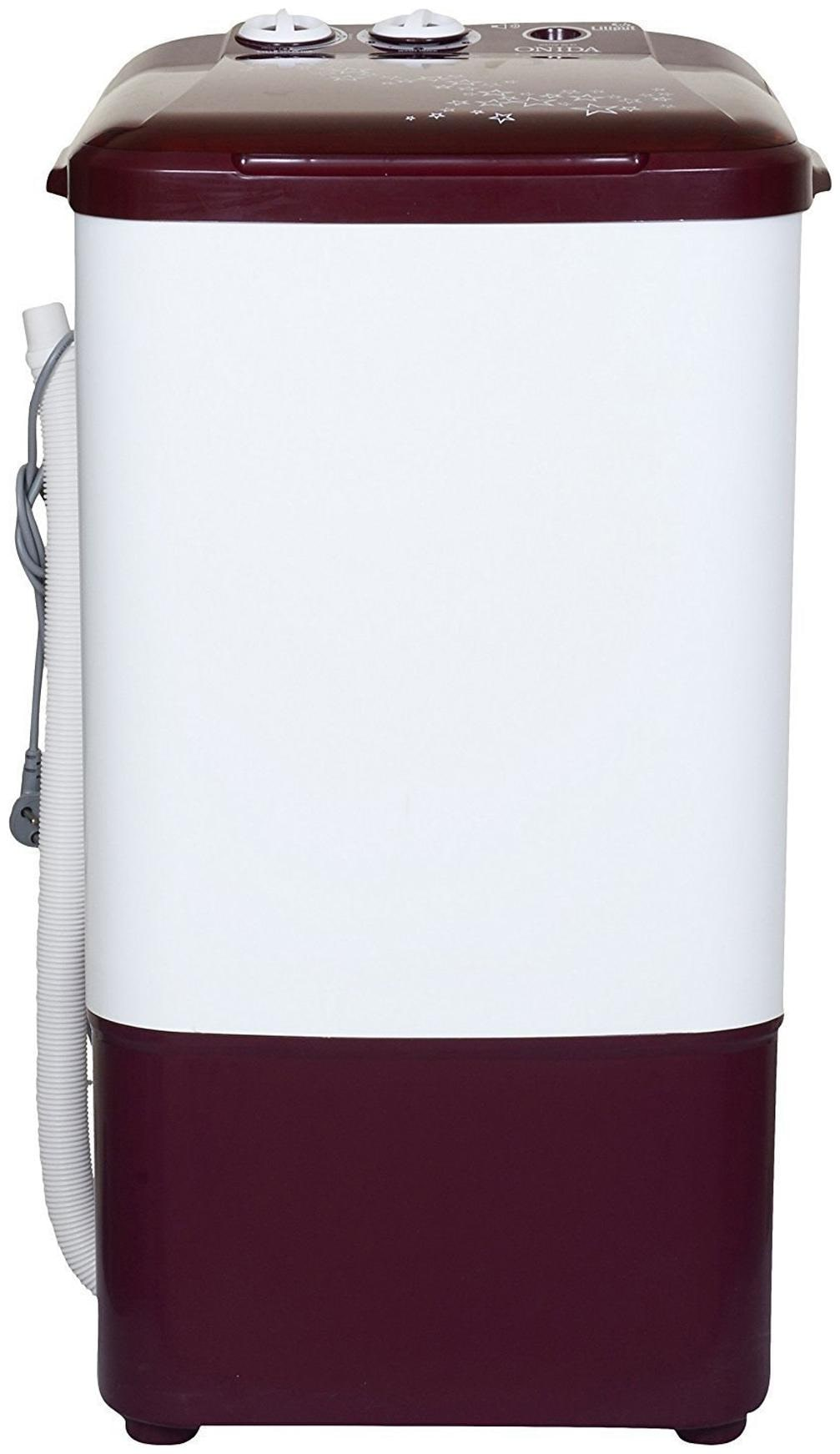 Onida 6.2 kg Semi Automatic Top Load Washer Only Washing Machine (WS65WLPT1, Lava Red)